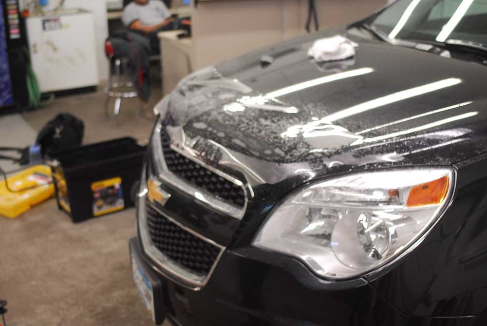 Chevy Equinox Paint Code Location