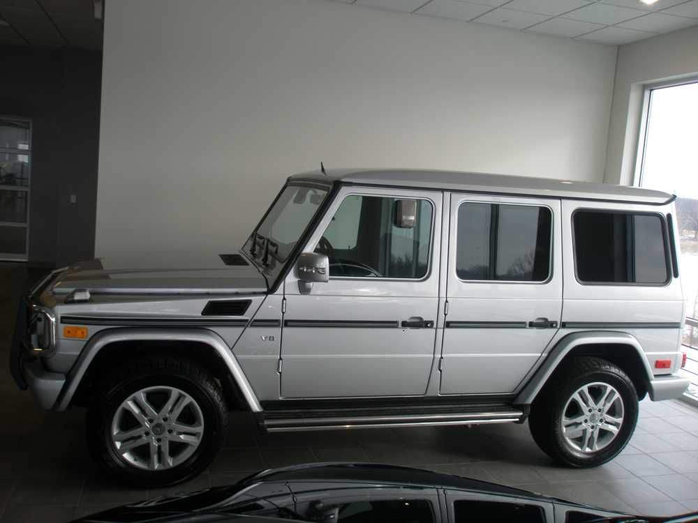 Mercedes Benz G500 Midwest Clear Bra