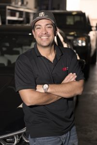 Owner of Midwest Clear Bra, Chris Mizuhata