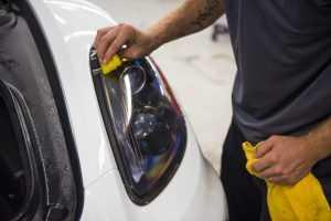 Porsche Cayman GT4 Clear bra