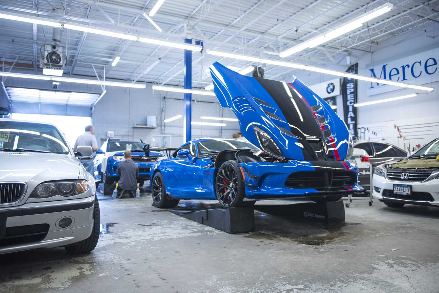 2017 Dodge Viper Acr Midwest Clear Bra
