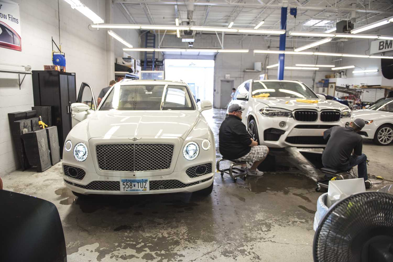 Bentley Bentayga Midwest Clear Bra