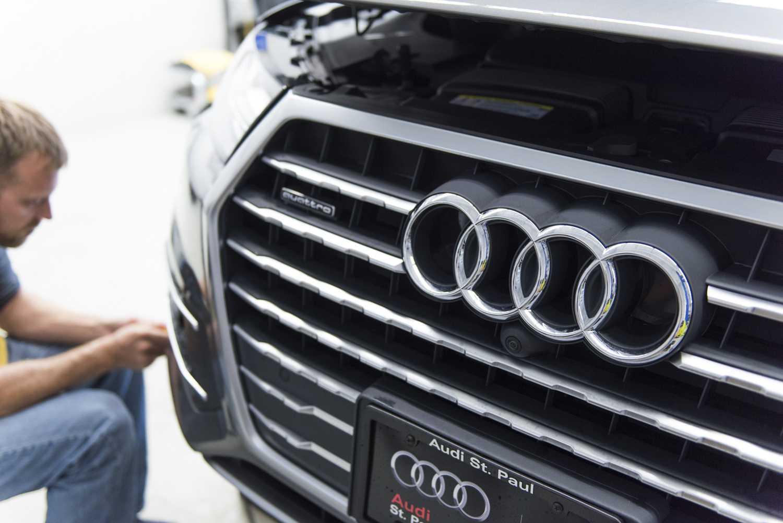 Audi Q MidWest Clear Bra - Audi st paul