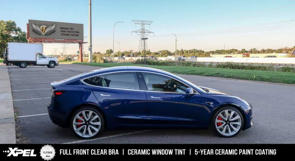 Tesla Model 3 - Paint Protection Clear Bra, Window Tint, Ceramic