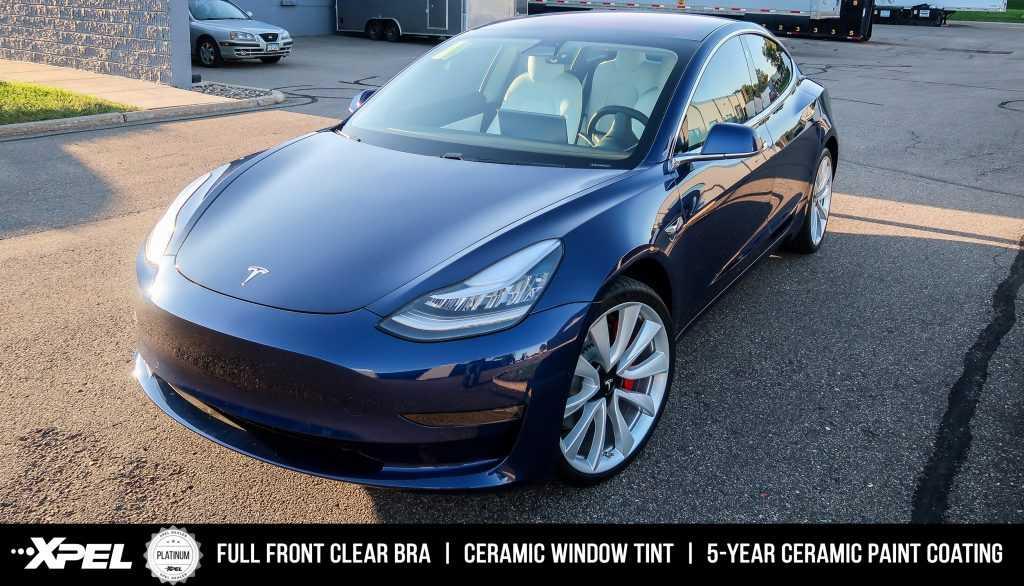 Tesla Model 3 - Paint Protection Clear Bra, Window Tint